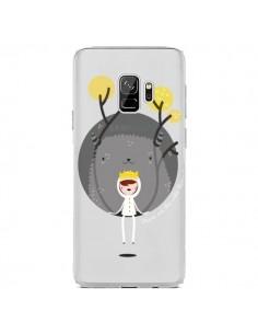 Coque Samsung S9 Monstre Princesse Transparente - Maria Jose Da Luz
