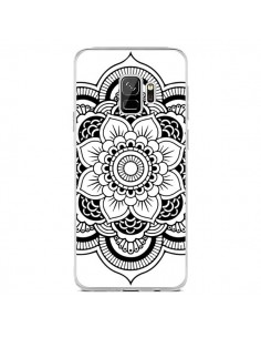Coque Samsung S9 Mandala Noir Azteque - Nico