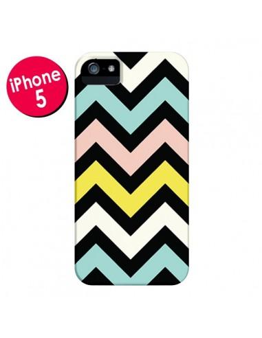 Coque Azteque Chevron Sunny pour iPhone 5 et 5S - Mary Nesrala