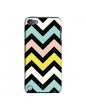 Coque Azteque Chevron Sunny pour iPod Touch 5 - Mary Nesrala