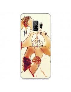 Coque Samsung S9 Peace and Love - Sara Eshak