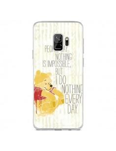 Coque Samsung S9 Winnie I do nothing every day - Sara Eshak