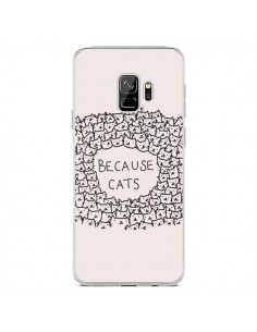 Coque Samsung S9 Because Cats chat - Santiago Taberna