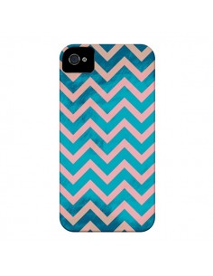 Coque Azteque Chevron Sunset pour iPhone 4 et 4S - Mary Nesrala