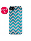 Coque Azteque Chevron Sunset pour iPhone 5 et 5S - Mary Nesrala