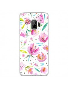 Coque Samsung S9 Painterly Waterolor Texture - Ninola Design