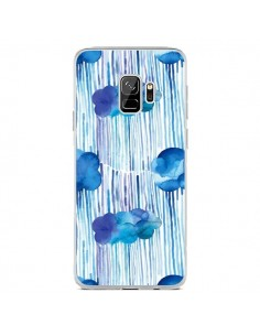 Coque Samsung S9 Rain Stitches Neon - Ninola Design