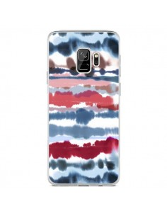 Coque Samsung S9 Smoky Marble Watercolor Dark - Ninola Design