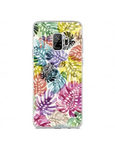 Coque Samsung S9 Tigers and Leopards Yellow - Ninola Design