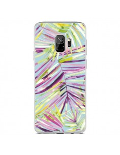 Coque Samsung S9 Tropical Flowers Multicolored - Ninola Design