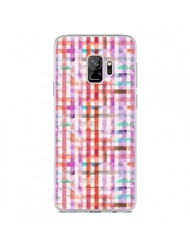 Coque Samsung S9 Tropical Parrots Palms - Ninola Design