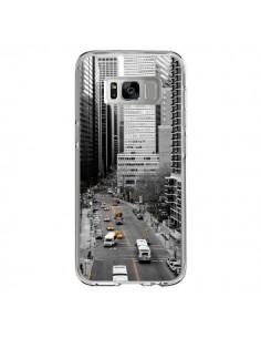 Coque Samsung S8 New York Noir et Blanc - Anaëlle François