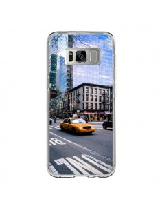 Coque Samsung S8 New York Taxi - Anaëlle François