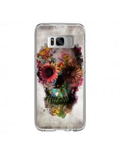 Coque Samsung S8 Skull Flower Tête de Mort - Ali Gulec