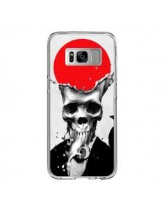 Coque Samsung S8 Splash Skull Tête de Mort - Ali Gulec