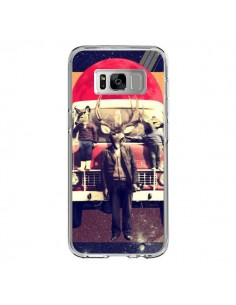 Coque Samsung S8 Cerf Le Camion - Ali Gulec