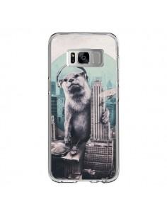 Coque Samsung S8 Loutre Dj New York - Ali Gulec