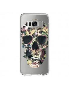 Coque Samsung S8 Skull Vintage Tête de Mort Transparente - Ali Gulec