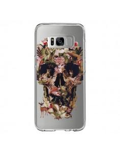 Coque Samsung S8 Jungle Skull Tête de Mort Transparente - Ali Gulec