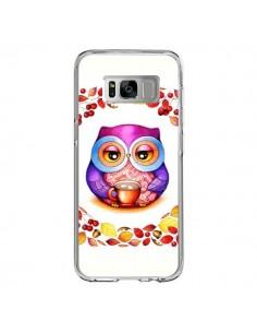Coque Samsung S8 Chouette Automne - Annya Kai
