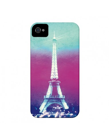 Coque Tour Eiffel Night pour iPhone 4 et 4S - Mary Nesrala
