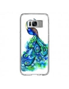 Coque Samsung S8 Paon Multicolore - Annya Kai