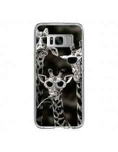 Coque Samsung S8 Girafe Swag Lunettes Familiy Giraffe - Asano Yamazaki