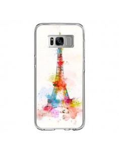 Coque Samsung S8 Paris Tour Eiffel Muticolore - Asano Yamazaki