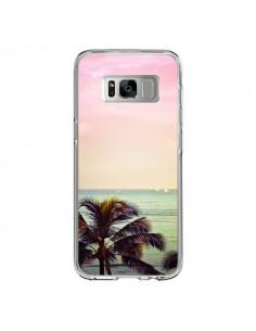 Coque Samsung S8 Sunset Palmier Palmtree - Asano Yamazaki
