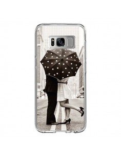 Coque Samsung S8 Secret under Umbrella Amour Couple Love - Asano Yamazaki