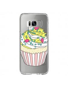 Coque Samsung S8 Cupcake Dessert Transparente - Asano Yamazaki