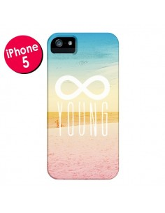 Coque Forever Young Plage pour iPhone 5 et 5S - Mary Nesrala