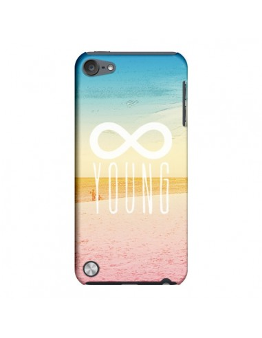 Coque Forever Young Plage pour iPod Touch 5 - Mary Nesrala