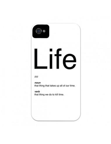 Coque Life pour iPhone 4 et 4S - Mary Nesrala
