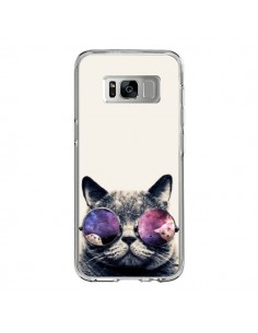 Coque Samsung S8 Chat à lunettes - Gusto NYC