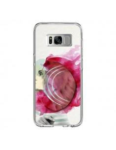 Coque Samsung S8 Bright Pink Femme - Jenny Liz Rome