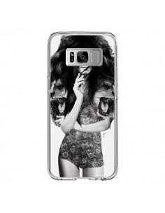 Coque Samsung S8 Femme Lion - Jenny Liz Rome