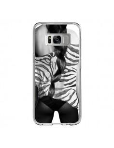Coque Samsung S8 Femme Zebre - Jenny Liz Rome