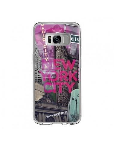 Coque Samsung S8 New York City Rose - Javier Martinez