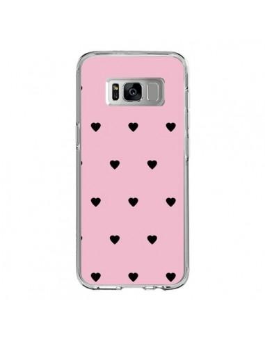 Coque Samsung S8 Coeurs Roses - Jonathan Perez