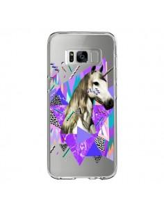 Coque Samsung S8 Licorne Unicorn Azteque Transparente - Kris Tate