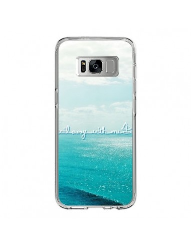 Coque Samsung S8 Sail with me - Lisa Argyropoulos