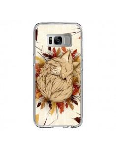 Coque Samsung S8 Night Fall Renard Automne - LouJah