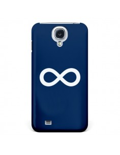 Coque Infini Navy Blue Infinity pour Galaxy S4 - Mary Nesrala