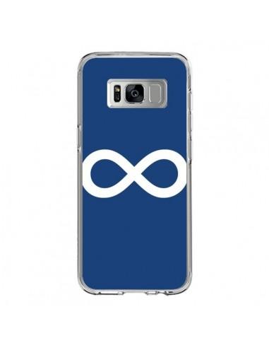 Coque Samsung S8 Infini Navy Blue Infinity - Mary Nesrala