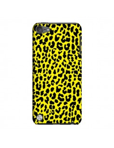 Coque Leopard Jaune pour iPod Touch 5 - Mary Nesrala