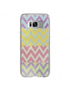 Coque Samsung S8 Chevron Summer Triangle Azteque - Mary Nesrala