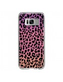 Coque Samsung S8 Leopard Hot Rose Corail - Mary Nesrala