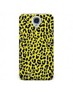 Coque Leopard Jaune pour Galaxy S4 - Mary Nesrala