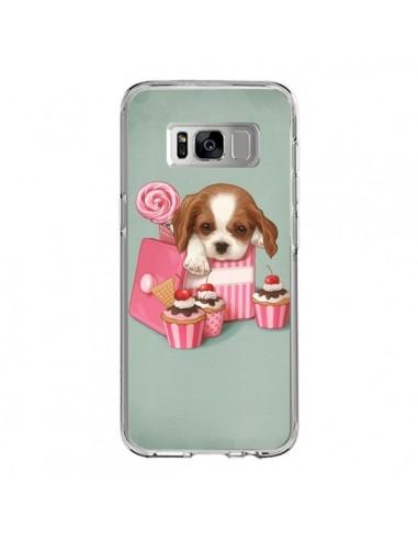 Coque Samsung S8 Chien Dog Cupcake Gateau Boite - Maryline Cazenave